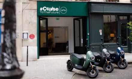 Unu : Lancement d'un nouveau scooter électrique