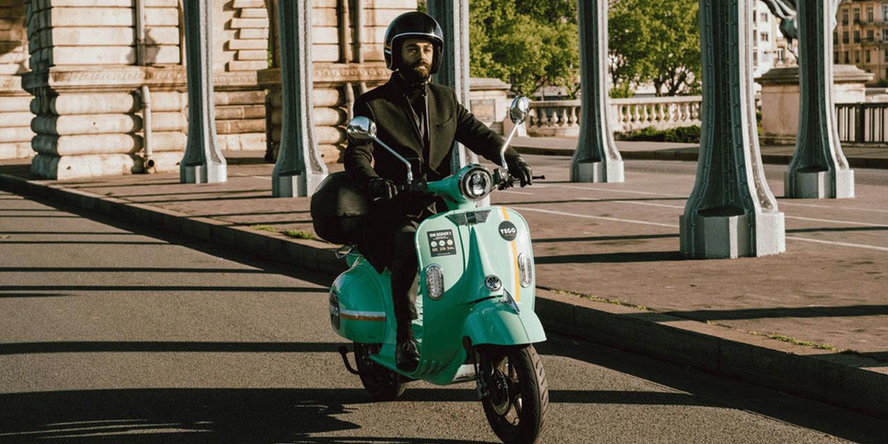 Yego / Pink : Nouveau scooter électrique en libre service à Paris