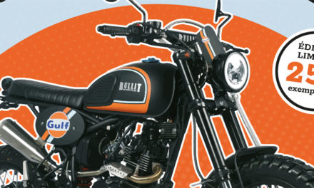 Bullit Hero 125 Gulf Black Edition : 250 exemplaires seulement !