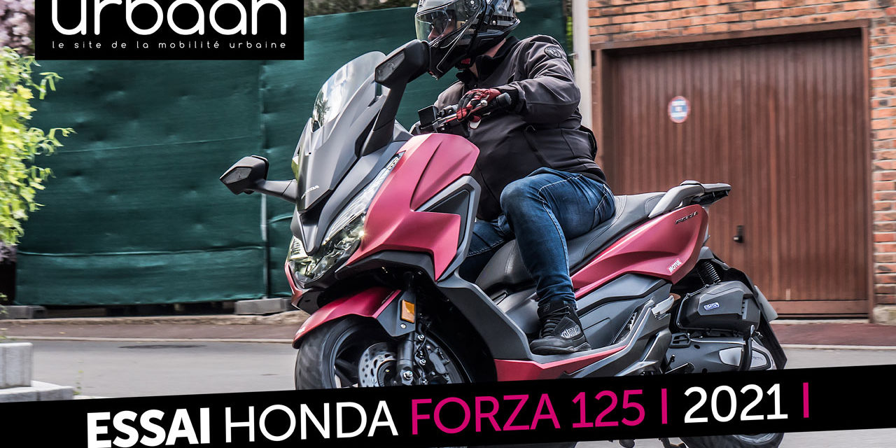 Essai Honda Forza 125 2021 : Toujours plus classe et efficace