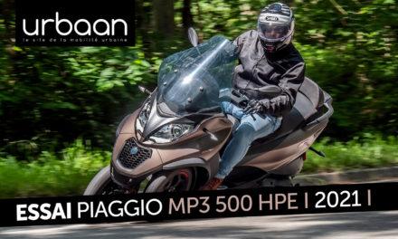 Essai Piaggio MP3 500 HPE : Toujours maître en son royaume ?