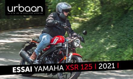 Essai Yamaha XSR 125 2021 : Du renouveau dans le rétro !