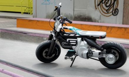 BMW Motorrad Concept CE 02 : La mobilité urbaine avant tout