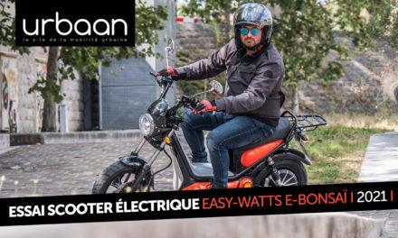 Essai easy-Watts e-bonsaï : un scooter dans l'ère du temps