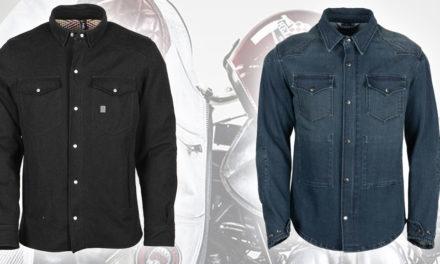 Helstons : deux chemises en jeans homologuées pour la route