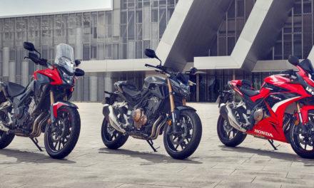 Honda CB500F, CBR500R et CB500X : Évolutions pour 2022