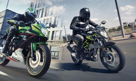 Kawasaki Ninja 125 et Z125 : Nouveau millésime 2022