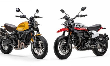 Permis A2 : Deux nouvelles Ducati Scrambler pour 2022