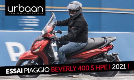 Essai Piaggio Beverly 400 S HPE : Nouvelle motorisation pour de nouvelles ambitions