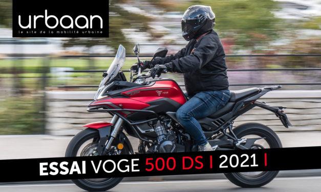 Essai Voge 500 DS 2021 : Une moto polyvalente, bien équipée et abordable